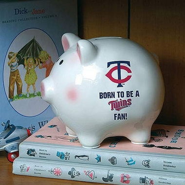 Minnesota Twins (Born to Be) Piggy Bank