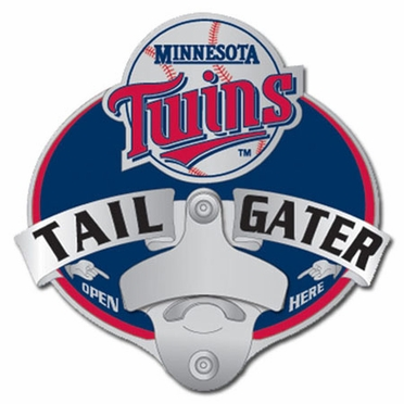 Minnesota Twins Bottle Opener Hitch Cover