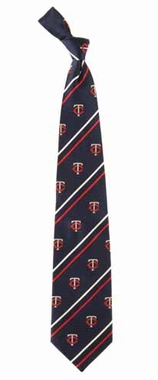 Minnesota Twins Cambridge Woven Silk Necktie