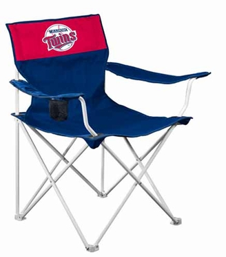 Minnesota Twins Canvas Adult Folding Logo Chair
