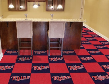 Minnesota Twins Carpet Tiles