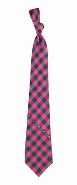 Minnesota Twins Check Poly Necktie
