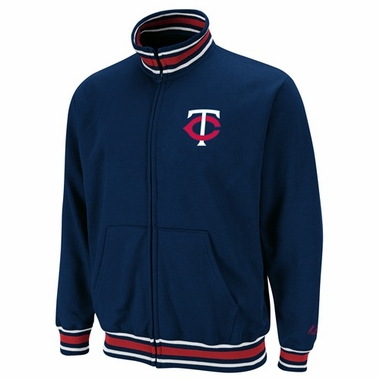 Minnesota Twins Clutch Hitter Full Zip Track Jacket