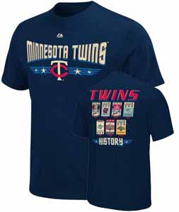Minnesota Twins Cooperstown Tickets T-Shirt
