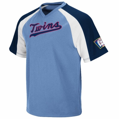 Minnesota Twins Cooperstown V-Neck Crusader Jersey