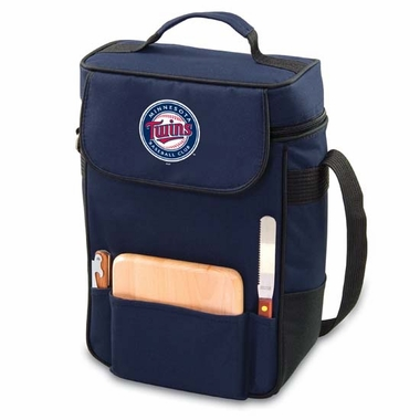 Minnesota Twins Duet Compact Picnic Tote (Navy)