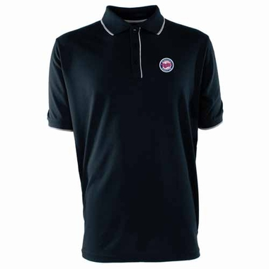 Minnesota Twins Mens Elite Polo Shirt (Color: Navy)