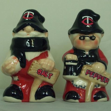 Minnesota Twins Gnome Salt & Pepper Shakers