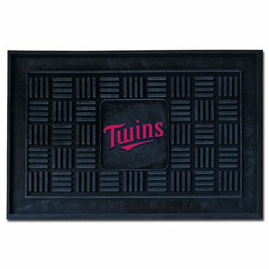 Minnesota Twins Heavy Duty Vinyl Doormat