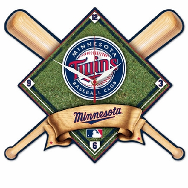 Minnesota Twins High Definition Wall Clock
