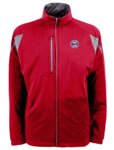 Minnesota Twins Mens Highland Water Resistant Jacket (Team Color: Red) - X-Large