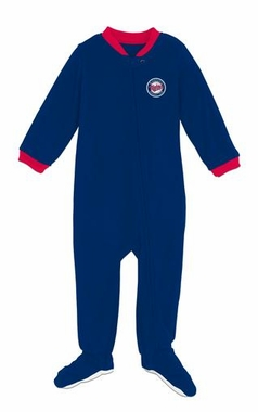 Minnesota Twins Infant Footed Sleeper Pajamas