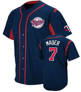 Minnesota Twins Joe Mauer Wind Up Jersey - X-Large