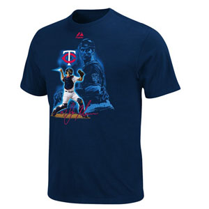 Minnesota Twins Joe Mauer YOUTH Player of the Game T-Shirt - Large