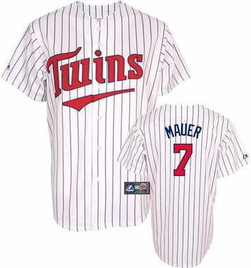 Minnesota Twins Joe Mauer YOUTH Replica Player Jersey