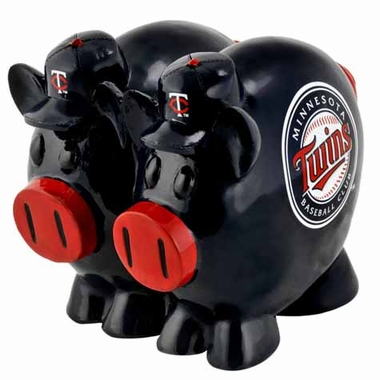 Minnesota Twins Large Thematic Piggy Bank