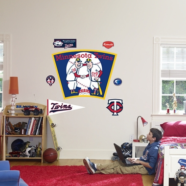 Minnesota Twins Logo (Throwback) Fathead Wall Graphic