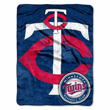 Minnesota Twins Microfiber Lightweight Blanket