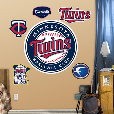 Minnesota Twins Minnesota Logo Fathead Wall Graphic