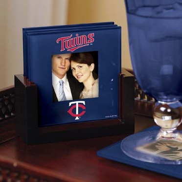 Minnesota Twins Photo Coaster Set