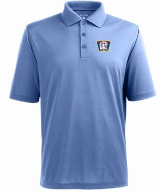 Minnesota Twins Mens Pique Xtra Lite Polo Shirt (Cooperstown) (Team Color: Aqua)