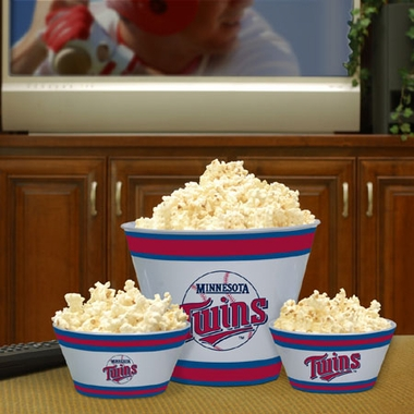 Minnesota Twins Plastic Serving Set