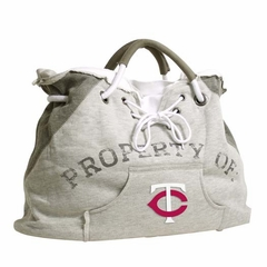 Minnesota Twins Property of Hoody Tote