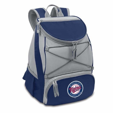 Minnesota Twins PTX Backpack Cooler (Navy)