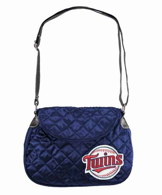 Minnesota Twins Quilted Saddlebag