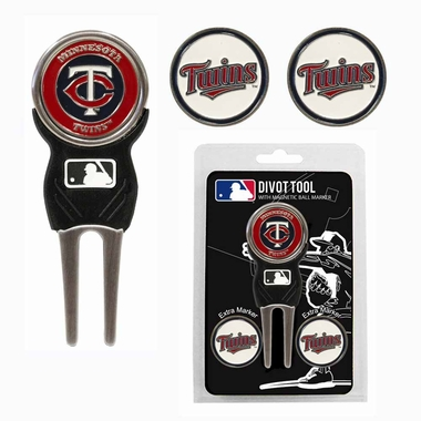 Minnesota Twins Repair Tool and Ball Marker Gift Set
