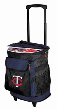 Minnesota Twins Rolling Cooler