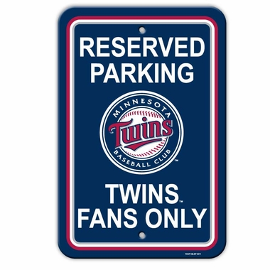 Minnesota Twins Plastic Parking Sign (P)