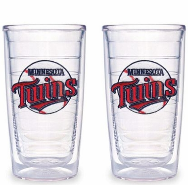 Minnesota Twins Set of TWO 16 oz. Tervis Tumblers