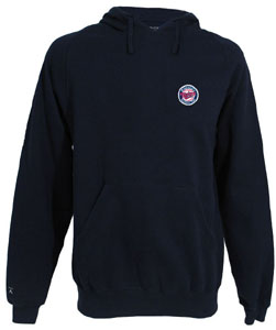 Minnesota Twins Mens Signature Hooded Sweatshirt (Alternate Color: Navy) - XXX-Large
