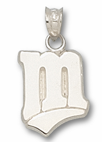 Minnesota Twins Sterling Silver Pendant