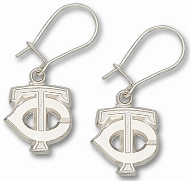 Minnesota Twins Sterling Silver Post or Dangle Earrings