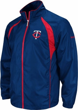 Minnesota Twins Trainer Full Zip Lightweight Jacket