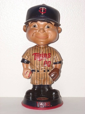 Minnesota Twins Vintage Retro Bobble Head