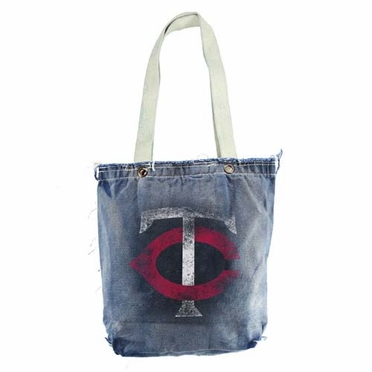 Minnesota Twins Vintage Shopper (Denim)