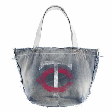 Minnesota Twins Vintage Tote (Denim)