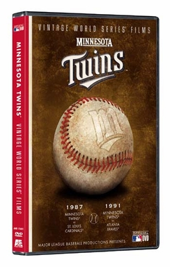 Minnesota Twins Vintage World Series Films DVD