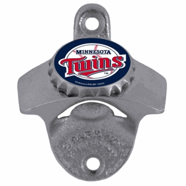 Minnesota Twins Wall Mount Bottle Opener