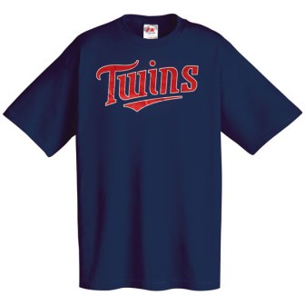 Minnesota Twins Wordmark T-Shirt