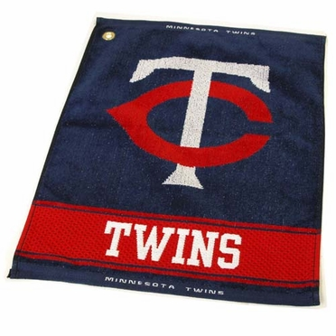 Minnesota Twins Woven Golf Towel