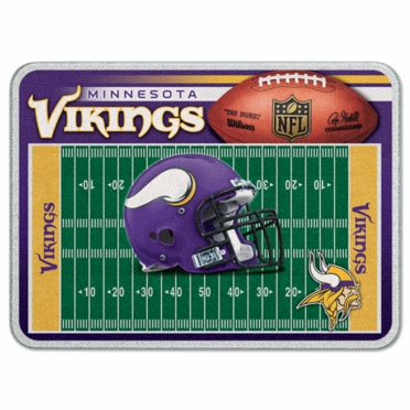 Minnesota Vikings 11 x 15 Glass Cutting Board