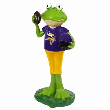 Minnesota Vikings 12 Inch Frog Player Figurine