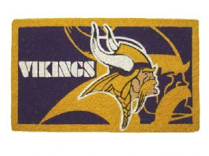 Minnesota Vikings 18x30 Bleached Welcome Mat