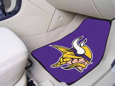 Minnesota Vikings 2 Piece Car Mats