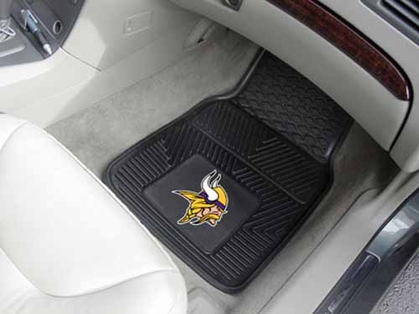 Minnesota Vikings 2 Piece Heavy Duty Vinyl Car Mats