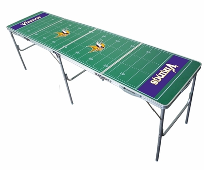 Minnesota Vikings 2x8 Tailgate Table